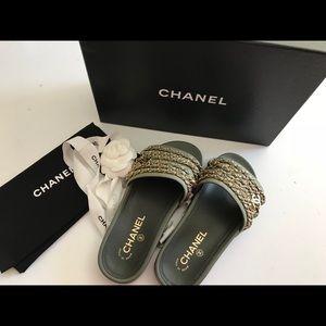 Chanel Slides, size 36